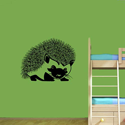 Stickers Animaux Jungle Hedgehog Animals Decal Home Kids Girl Nursery Room Interior Décor For Living Room Bedroom