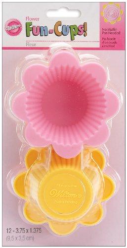 Wilton Flower Silicone Fun Cups