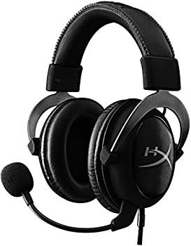 HyperX Cloud II Gaming Headset - 7.1 Surround Sound - Memory Foam Ear Pads - Durable Aluminum Frame - Works with PC PS4 PS4 PRO Xbox One Xbox One S - Gun Metal  KHX-HSCP-GM   Renewed