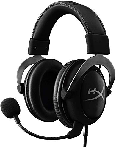HyperX KHX-HSCP-GM Cloud II Cuffie Gaming per PC/PS4/Mac, Grigio