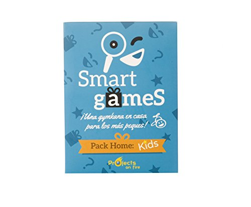 Smart Games Kids - Una gymkana en casa con pruebas de ingenio para niños a partir de 6 años