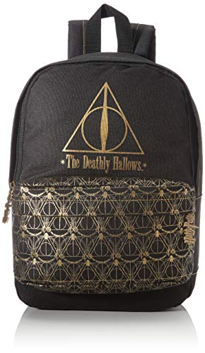 Groovy Zaino Scuola Harry Potter, Deathly Hallows, Multicolore (Multicolore), 15x22x38 cm (W x H x L)