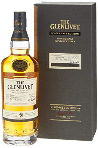Glenlivet 18 Years Old Allargue Single Cask Edition Whisky mit Geschenkverpackung (1 x 0.7 l)