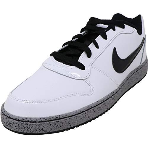 Nike Hombres Deportivos de Moda, White/Black/Cement Grey/White, Talla 11