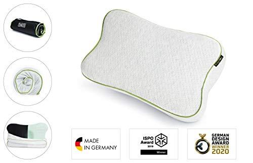 BLACKROLL RECOVERY PILLOW – orthopädisches HWS Kissen (Nackenstützkissen) aus Viscose Memory Schaum - Made in Germany