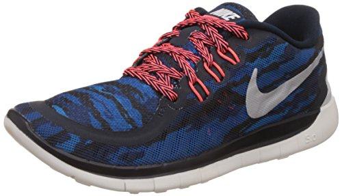 Nike Free 5.0 Print (GS) LT Blue Lacquer/Black-BL LGN - 38