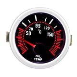 Qiilu Indicatore della temperatura dell'olio , indicatore della temperatura dell'olio per ...