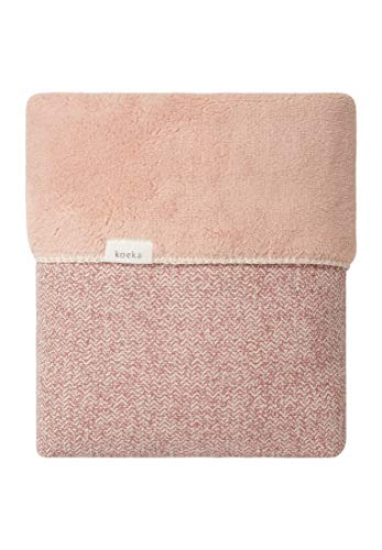 Koeka Kinderbettdecke Teddy Vigo Old Pink/Shadow Pink 100X150 Cm
