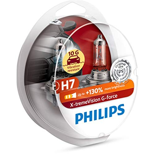H7 X-tremeVision G-force (2 Stk.) Philips Lampenart: H7 12972XVGS2