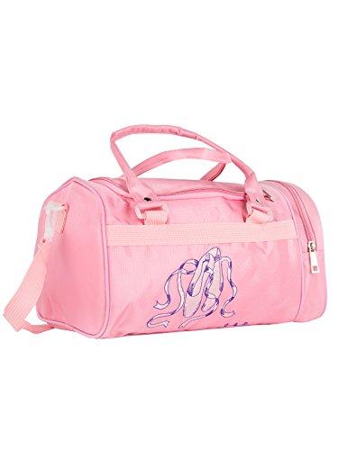 Dancewear-and-Shoes Balletttasche DWS-016 für Mädchen Farbe pink für Ballett Tanz Fitness Sport Gymnastik Freizeit Geschenk