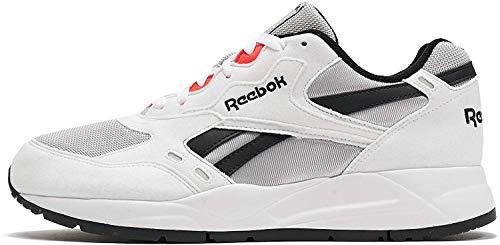 Reebok Unisex-Erwachsene Bolton Essential Mu Laufschuhe, Mehrfarbig (White/Skull Grey/Black/Neon Red 000), 43 EU