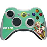 Skinit Decal Gaming Skin Compatible with Xbox 360 Wireless Controller - Officially Licensed Warner Bros Harley Quinn Birds of Prey Design