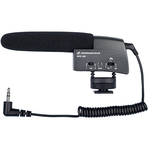 Sennheiser MKE 400 video mini-richtmicrofoon voor camera's