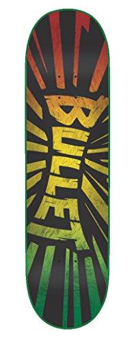 Bullet Skateboard Rasta Shrapnel 31,6 x 8