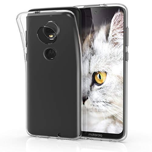 kwmobile Hülle kompatibel mit Motorola Moto G7 / Moto G7 Plus - Handyhülle - Handy Hülle in Transparent