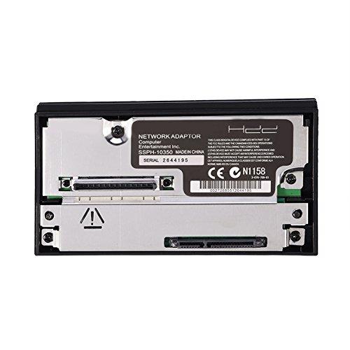Tonysa SATA Interface Netzwerkadapter HDD Festplattenadapter für PS2 Playstation 2 Keine IDE, Unterstützt bis zu 2 TB SATA-Festplatte (2,5