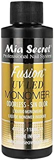 Mia Secret ODORLESS FUSION UV LED MONOMER 2oz / 4oz / 32oz Pick Yours YOURSTORE4LESS (FUSION ODORLESS 4oz)