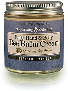 Lavender Vanilla Bee Balm Cream 4oz
