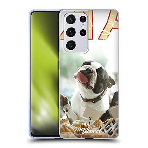 Head Case Designs Licenza Ufficiale Ron Schmidt Biscotto Cani Cover in Morbido Gel Compatibile con Samsung Galaxy S21 Ultra 5G