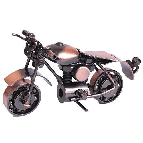 JJLESUN3 14 * 6 * 8 cm Motorrad Eisen Handwerk Eisen Modell Kreative Desktop Ornamente Geschenk Geschenk Sammlung Souvenir