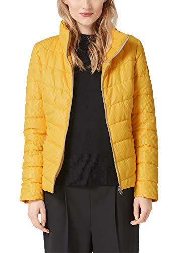 s.Oliver Damen 05.901.51.3131 Jacke, Gelb (Pure Yellow 1390), (Herstellergröße: 38)