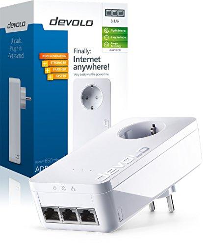 Devolo 9233 DLAN 650 triple+ Netzwerkadapter (Niederländische Version)
