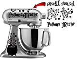 Potions Master Vinyl Decal Sticker for Kitchen Mixers