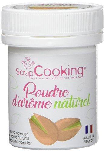 Scrapcooking Poudre d'Arôme Naturel Pistache 15 g - Lot de...