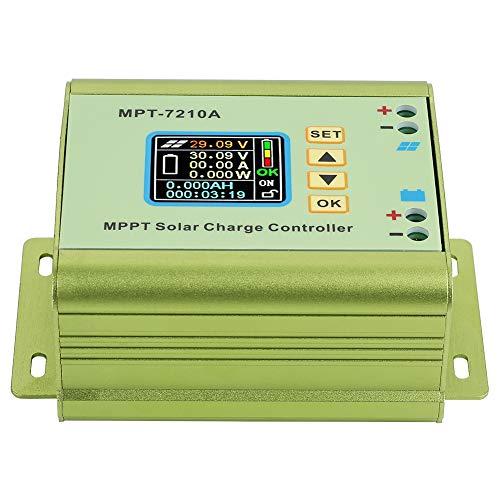 Fockety Controlador de Carga, Controlador de Panel Solar Regulador de Carga de Panel Solar Regulador Solar, para Carga de batería de Litio Lámpara de Calle Solar Carga de batería doméstica