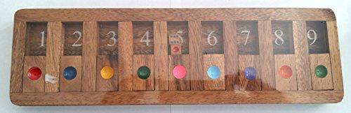 Numerodad - Cierra la caja. Juego de madera. Juego de sobremesa