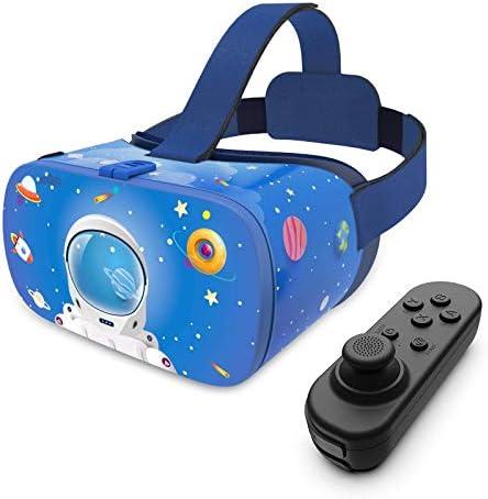 DESTEK VR Headset for Kids 110 FOV Anti Blue Light Eye Protected HD Virtual Reality Headset product image
