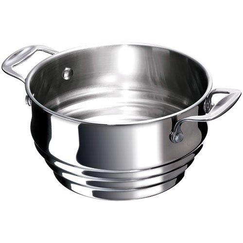 Bekaline 12060164 Chef Multi Passoire Vapeur en acier inoxydable 16 à 20 cm