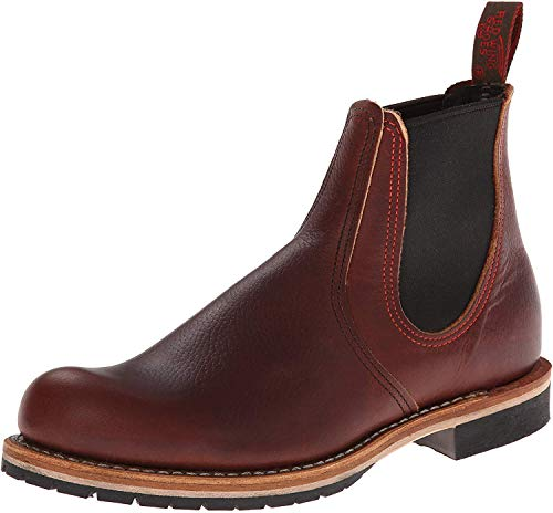 Red Wing Shoes Herren Chelsea Rancher Stiefeletten, Braun (Brown), 42.5 EU