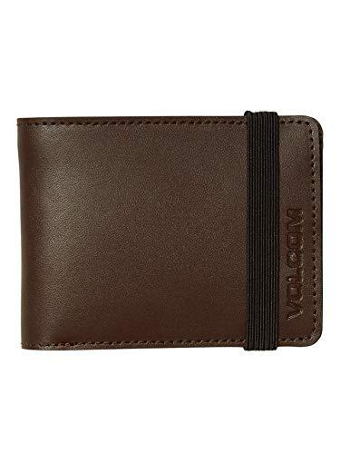 Volcom - Halfstone Leather - Men Wallet - Brown