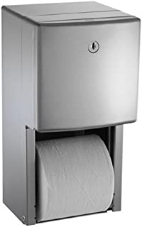 ASI 20030 American Specialites Roval Twin Roll Toilet Tissue Dispenser