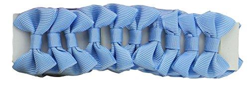invlechtstrikjes blauw 20 stuks 2,5 cm