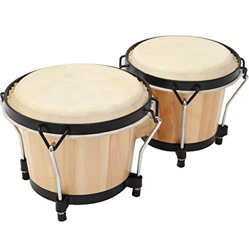 """MUSICUBE Bongo Drum Set, 6"""" and ..."""