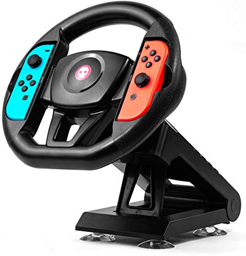 Numskull Nintendo Switch Joy-Con Steering Wheel Table Attachment, Switch Racing Wheel Accessory (Nintendo Switch)