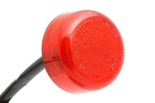 Mini feu arrière LED - Rouge - 30 mm.