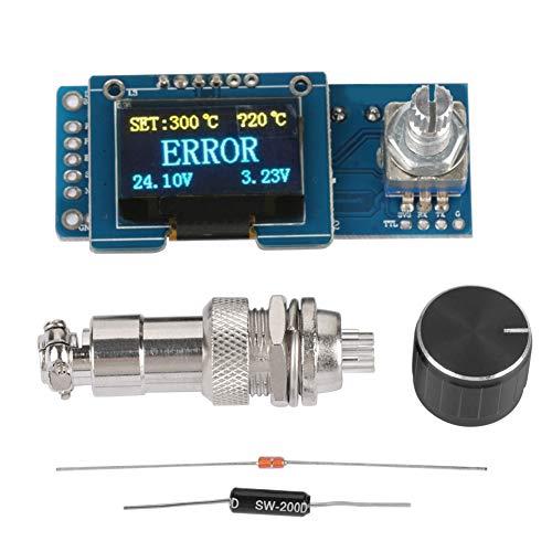 T12 Lötstation OLED Display Steuerplatine, DIY STC Controller Kit Elektrische Lötwerkzeuge für Lötstation