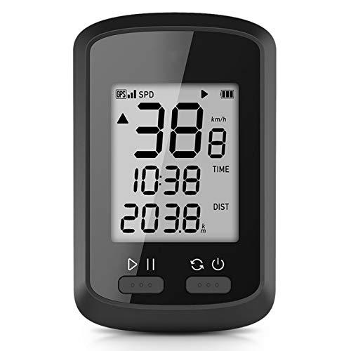 Belleashy Ciclismo Ordenador inteligente GPS Ciclismo Ordenador Inalámbrico Bici Ordenador Para