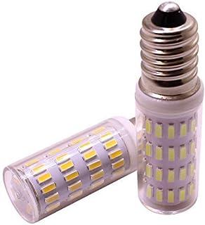 E14 Bombilla de lámpara LED para maíz, 3W 12V 24V, Bombillas LED de baja tensión para candelabros, Reflector de lámpara halógena de 30W, Blanco cálido para iluminación de araña decorativa, 2 paquetes