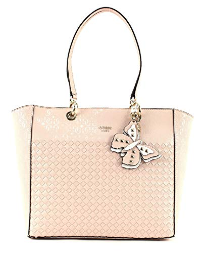 GUESS Flutter Tote Blush