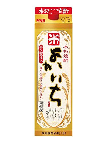 本格焼酎よかいち 米 25° 1800ml紙パック  [宮崎県]