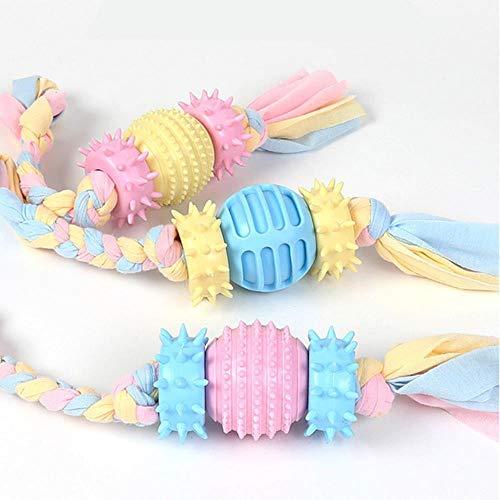 ZWQ Bissfestes Haustier Hund Gummi Kauspielzeug für Hunde Spielzeug Haustiere Produkte Zahnreinigung Welpe Big Dog Ball, Laterne, 1 Stück-Zufällige Farbe