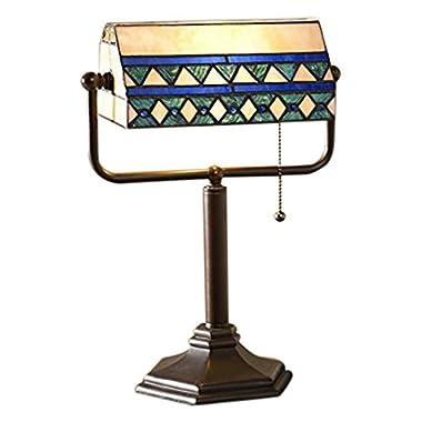Camden Tiffany Banker's Lamp