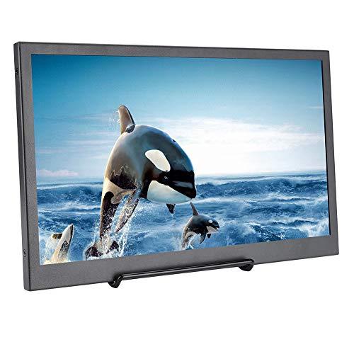 Monitor Portátil, Monitor para Juegos Ultradelgado 13,3 Pulgadas, Pantalla Juego HDMI 1080P 1920 * 1080 IPS HDR con Puerto Micro-HDMI Compatible con Aspberry Pi Series/ PS4/ Xbox360