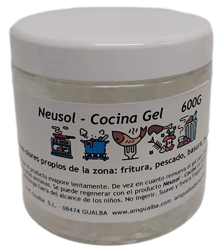 Neusol Mascotas Gel 600g Quita olor (orina, vómito, corporal) de perros y gatos de la casa Efectivo, duradero y económicos.
