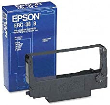 Epson Erc-38b Consumables Black Ink Ribbon For Use In Tm-u220 Tm-u210 Tm-u230 Tm-u325 Tm-u375 Tm-u300 Tm-u200(1 ribbon)