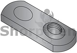 Box Quantity 1000 by Korpek.com BC-10NWP1 10-24 One Projection Tab Weld Nut Plain Single